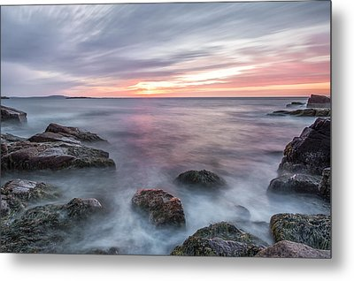 Rhythmic Dawn Metal Print