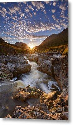 River Etive Metal Print by Rod McLean