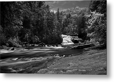 Metal Print featuring the photograph River Run by David Stine