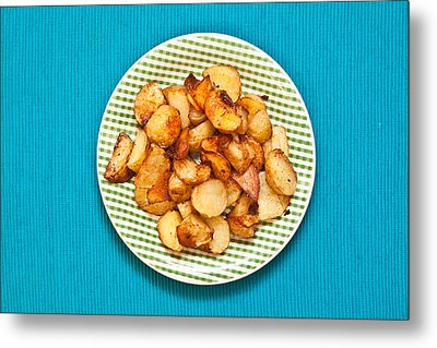 Roast Potatoes Metal Print by Tom Gowanlock