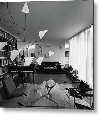 Robert Osborn's Living Room Metal Print