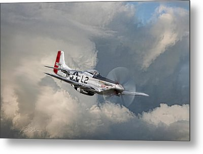 Robin Olds Scat Vll Metal Print by Peter Chilelli