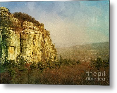 Rock Of Ages Metal Print by A New Focus Photography