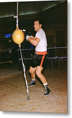 Rocky Marciano Training Metal Print by Retro Images Archive