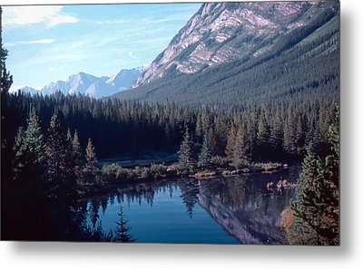 Metal Print featuring the photograph Rocky Mountain Gem by Jim Sauchyn