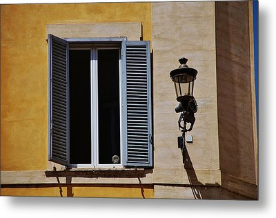 Roman Window Metal Print by Dany Lison