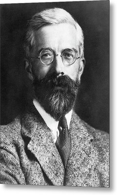 Ronald Fisher Metal Print by American Philosophical Society