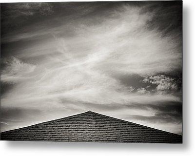 Rooftop Sky Metal Print by Darryl Dalton