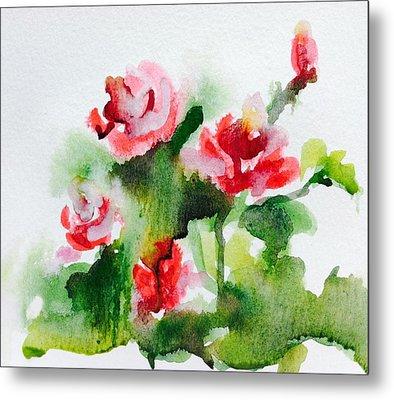 Roses Garden 3 Metal Print by Hae Kim