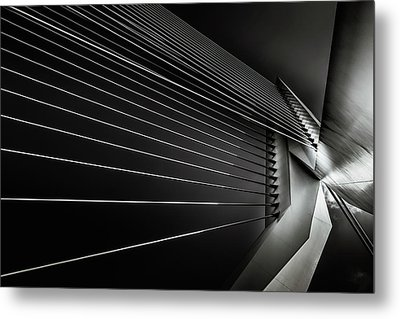 Rotterdam - Cable Style Metal Print