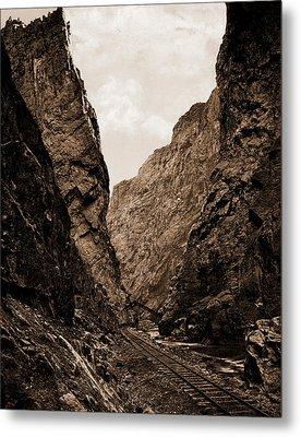 Royal Gorge, Canyon Of The Arkansas, Colorado, Jackson Metal Print by Litz Collection