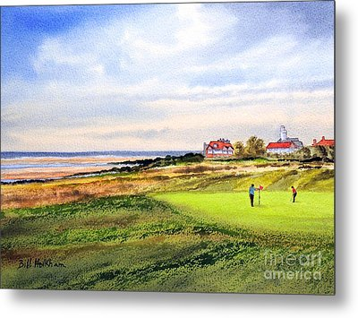 Royal Liverpool Golf Course Hoylake Metal Print by Bill Holkham