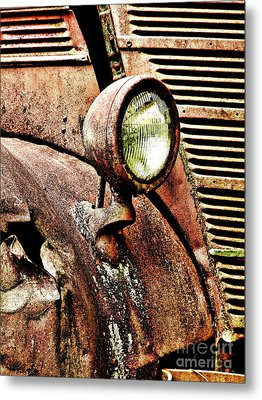 Rusted Metal Print by Ron Roberts
