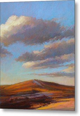 Sacred Dune Metal Print by Ed Chesnovitch
