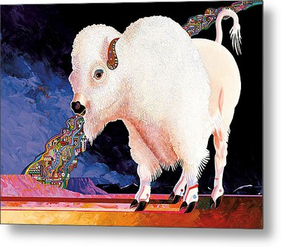 Sacred Spirit Metal Print by Bob Coonts