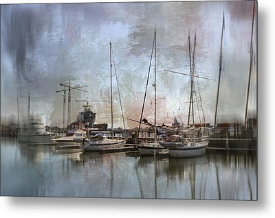 Sail Away With Me Metal Print by Kathy Jennings