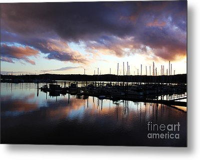 Sailors Delight Metal Print by Alison Tomich