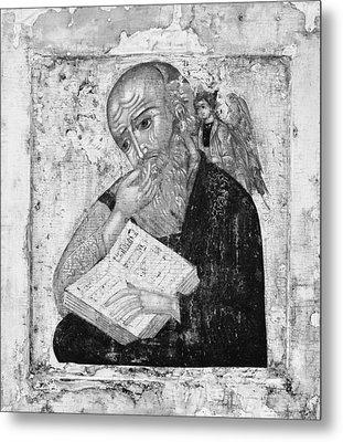 Saint John The Evangelist In Silence Metal Print