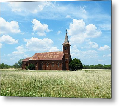 Saint John's Catholic Church Metal Print by The GYPSY And DEBBIE