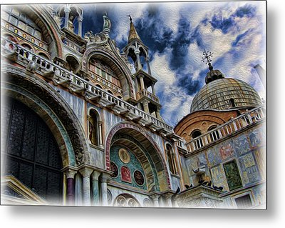Saint Mark's Basilica Metal Print by Lee Dos Santos