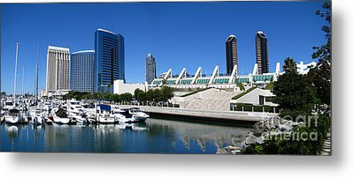 San Diego Panoramic View Metal Print by Bedros Awak