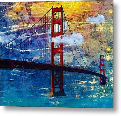 San Francisco Bridge Metal Print