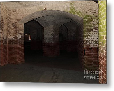 San Francisco Fort Point 5d21548 Metal Print by Wingsdomain Art and Photography