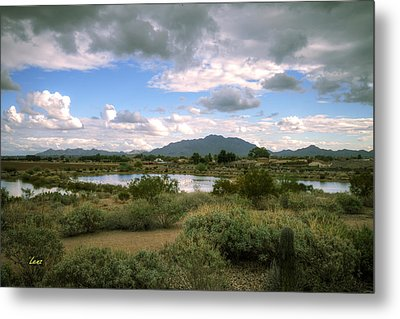 San Tan Wide Metal Print by George Lenz