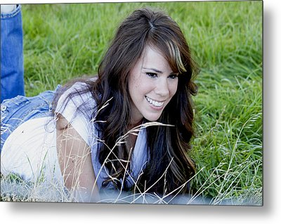 Sarah_1 Metal Print by Ivete Basso Photography