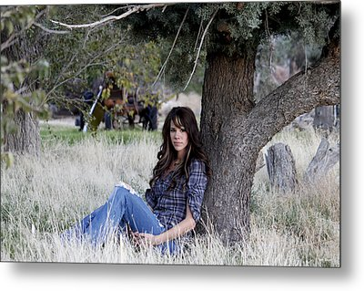 Sarah_4 Metal Print by Ivete Basso Photography