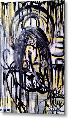 Sarge-7 On Fotoblur Metal Print by Adriana Garces