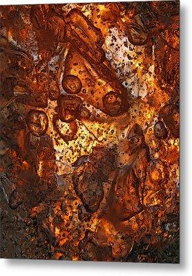 Scattering Metal Print