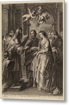 Schelte Adams Bolswert After Sir Peter Paul Rubens Flemish Metal Print