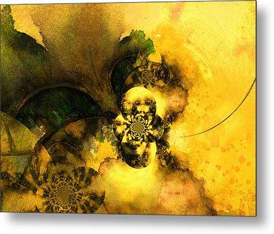 Scream Of Nature Metal Print by Miki De Goodaboom