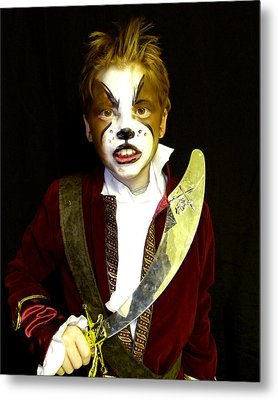 Scurvy Dog Metal Print