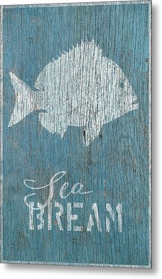 Sea Bream Metal Print