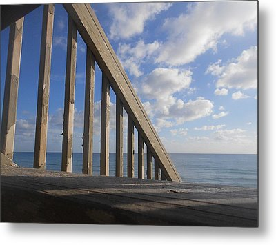 Sea Perspective Metal Print