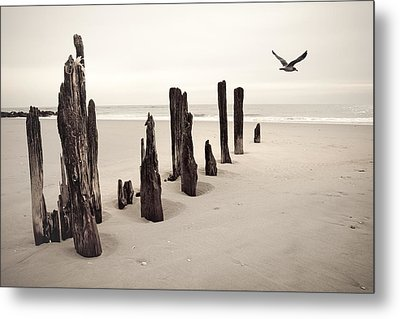 Seaside Metal Print by Gary Heller