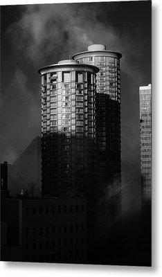 Seattle Towers Metal Print by Paul Bartoszek