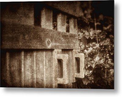 Secluded Garden Metal Print by Tom Mc Nemar