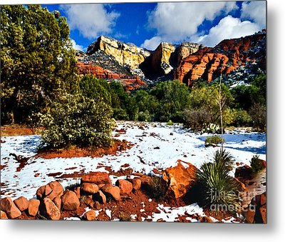 Sedona Arizona - Wilderness Metal Print