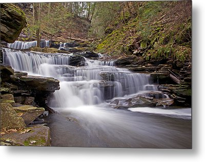 Seneca Falls In Spring Metal Print by Shelly Gunderson