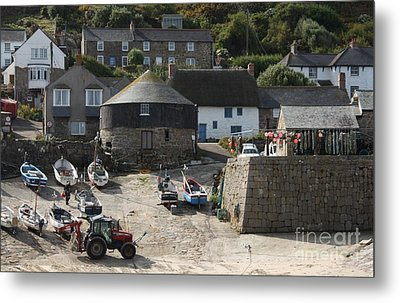 Sennen Cove Metal Print by Linsey Williams