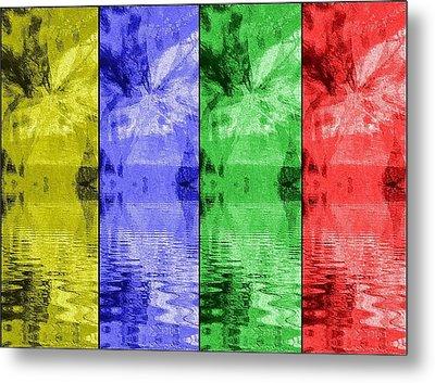 Shades Of Waves Metal Print by Kelly McManus