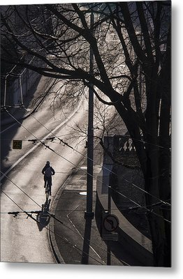 Metal Print featuring the photograph Shadow And Light by Muhie Kanawati