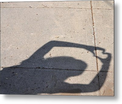 Shadow Of Love Metal Print by Kiros Berhane