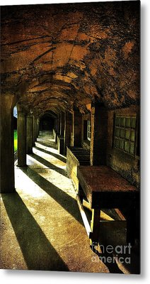Shadows And Arches I Metal Print
