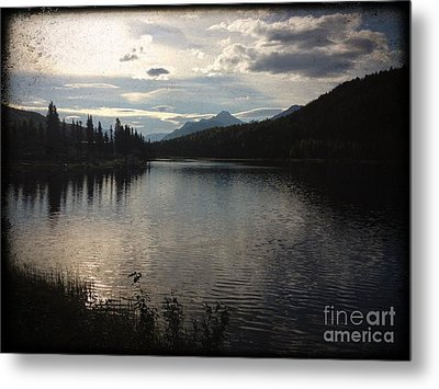 Metal Print featuring the photograph Shallow Lake by J Ferwerda