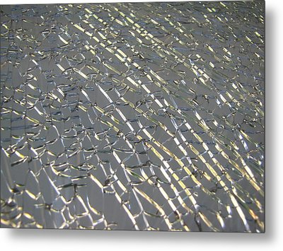 Metal Print featuring the photograph Shattered by Beth Vincent