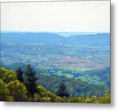 Shenandoah Valley Overlook Metal Print